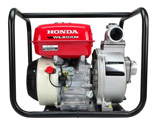 motobomba autocebante con alerta 4.8 hp 2x2 honda wl20xm-mfx