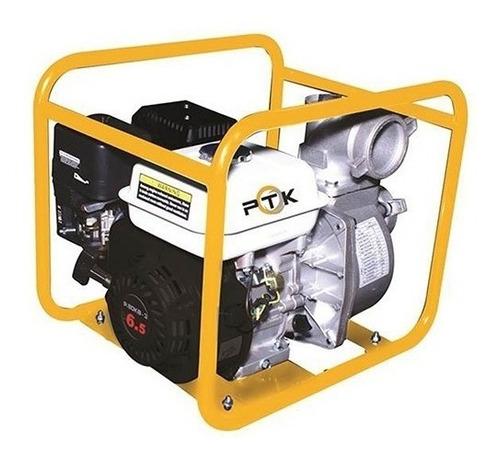 motobomba bomba de agua a gasolina ptk 5.5 hp 2 pulgadas