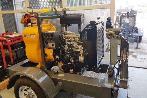 motobomba de 6¿,marca cipsa,modelo  mq600p,motor diesel 55hp