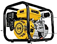 motobomba de agua a gasolina 5 hp 350 litros minuto 2 salida