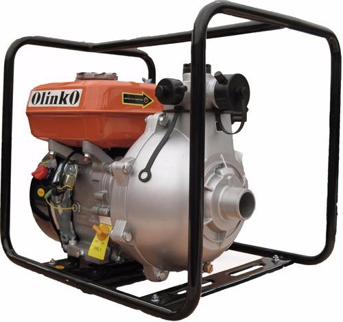 motobomba de alta presion 1 1/2 x 1 1/2 motor gasolina 5hp