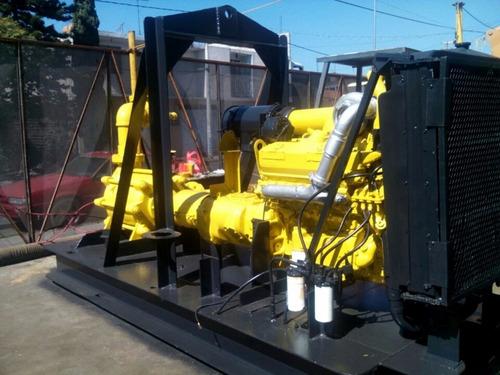 motobomba de chiflon motor detroit diesel para riego