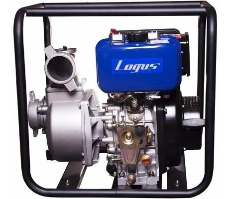 motobomba logus diesel autocebante motor7,0 hp60000 lts/h