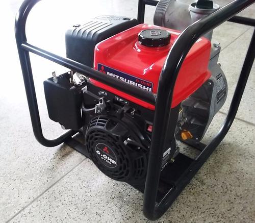 motobomba mitsubishi gasolina 6 hp