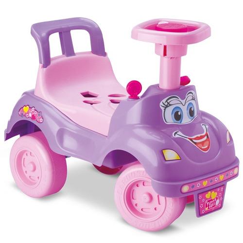 motoca infantil bebe carrinho totokinha plus rosa cardoso
