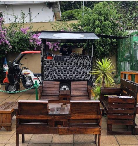 motocar mcf 200 adaptada food truck tuk tuk