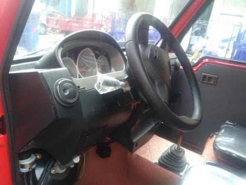 motocarguero con timon de auto