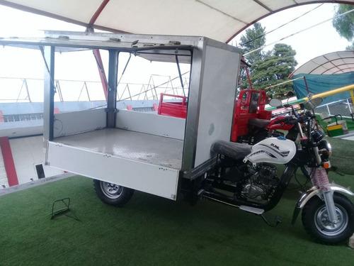 motocarro 150cc asiento corrido c/caja seca