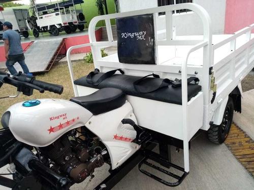 motocarro 2019 con cabina y asiento corrido pasajeros