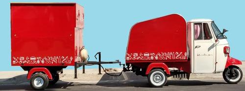 motocarro ape piaggio, hacemos tu proyecto particular