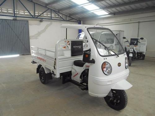 motocarro caja 1.80 m  700 kg con cabina 12 meses