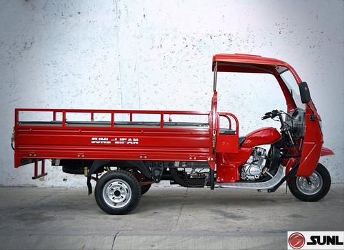 motocarro caja larga sunl 300 cc enfriado por agua nuevo
