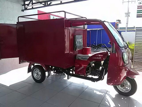 motocarro caja metálica 2018 con cabina de conductor