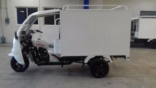 motocarro caja metálica 2019 con cabina de conductor