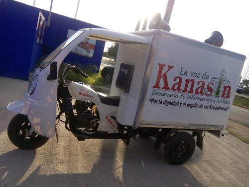 motocarro caja metálica kingway 2018