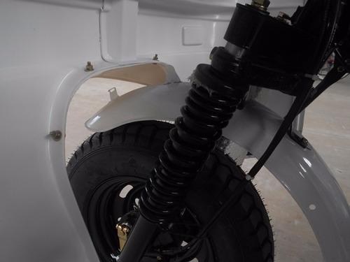 motocarro con cabina 2018 caja larga y carga 700 kg