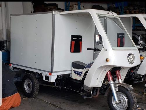 motocarro dayun con caja seca 2017