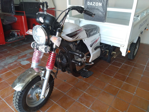 motocarro dazon 200 cc purificadoras, carga 600kg