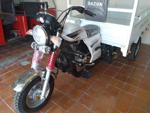motocarro dazon 200 pick up, comida, materiales carga 600kg