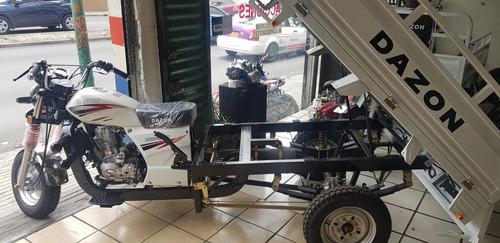 motocarro dazon, carga, pasajeros, comida, garrafones m 2020