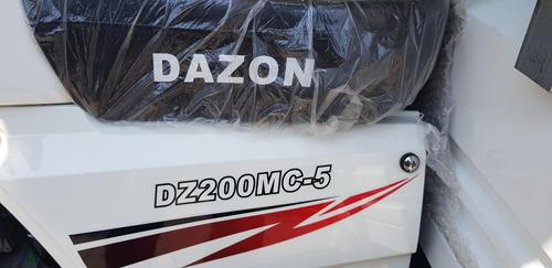 motocarro dazon dz200mc año 2020 con motor ventilado reforza