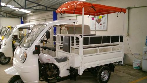 motocarro de 6 a 8 pasajeros mototaxi 2020  200cc