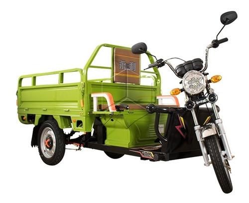 motocarro electrico con platon  motocarguero