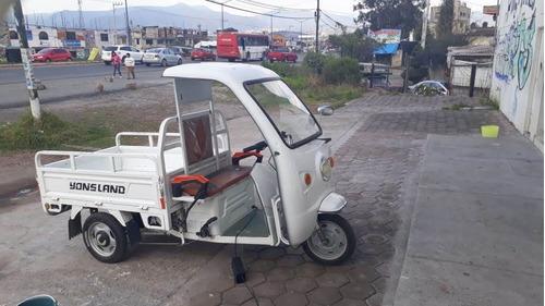 motocarro eléctrico nuevo tipo caja cerrada ya8c c/cabina