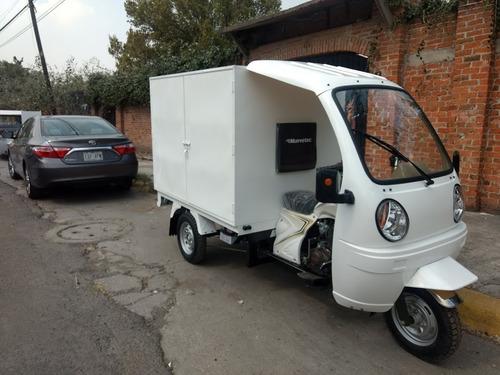 motocarro gasolina nuevo tipo caja cerrada g-ya8c 12 msi