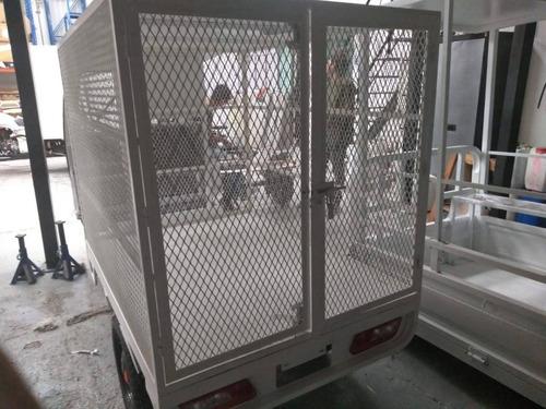 motocarro gasolina nuevo tipo caja rejada g-ya8r-xl c/cabina