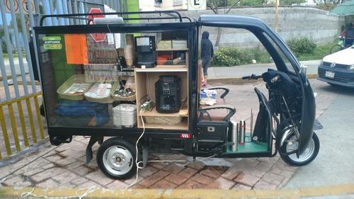 motocarro gasolina nuevo tipo caja seca g-h8c c/cabina