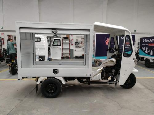 motocarro gasolina nuevo tipo plancha g-ya8-xl c/cabina