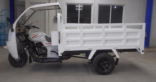motocarro kingway 1 ton 250cc con cabina a 12 meses sin inte