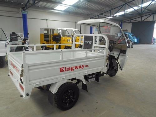 motocarro kingway 2019 caja 1.80 700 kg con cabina 12 meses