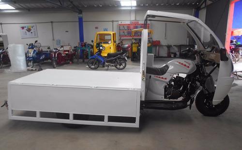 motocarro kingway 2019 de 1 ton 250cc con cabina