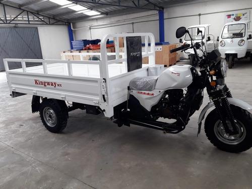 motocarro  kingway 2020 1 ton caja larga 2.20 mt