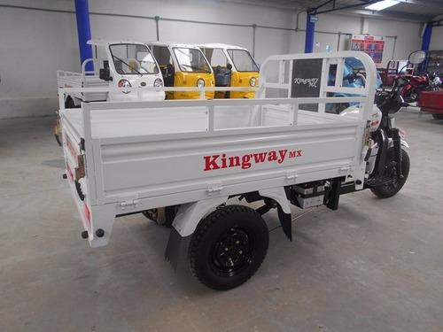 motocarro kingway caja larga 700 kg  200 cc 2019