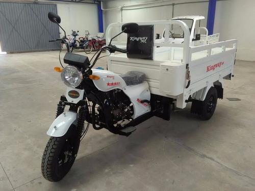 motocarro kingway de carga caja larga 700 kg