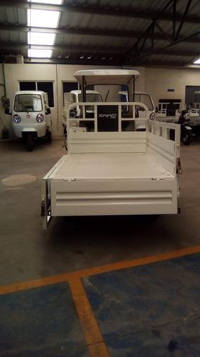 motocarro kingway mx 2019 caja larga  700 kg con cabina