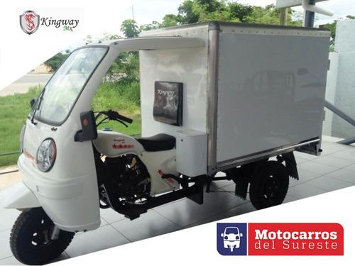 motocarro kingway mx 2019  caja seca a 12 meses