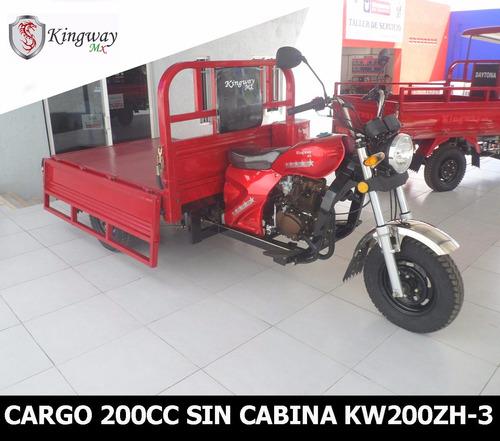 motocarro kingway mx caja larga 700 kg 12 meses sin interes
