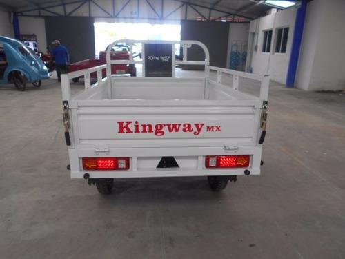 motocarro kingway mx caja larga 700 kg promo qmk
