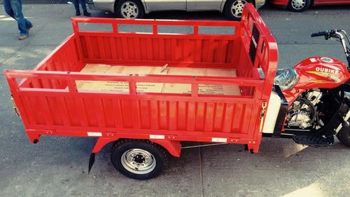 motocarro  mc250 para carga, garrafonero, venta de comida