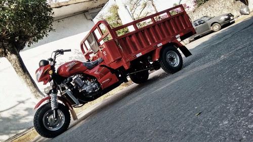 motocarro  ml- 250 para carga, garrafonero, venta de comida