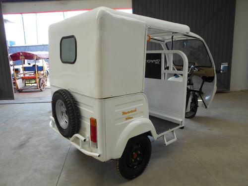 motocarro mototaxi electrico  pasajeros vehiculo electrico