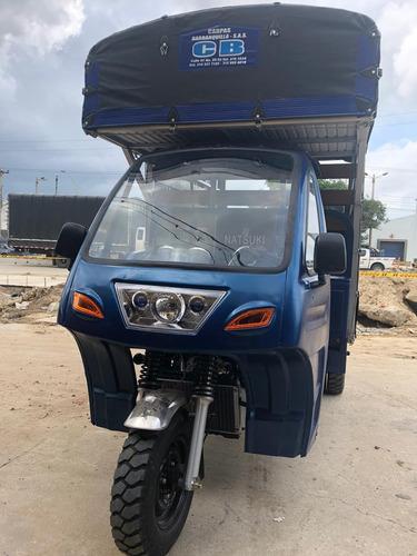 motocarro natsuki estaca con cabina