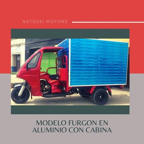 motocarro natsuki furgon con cabina