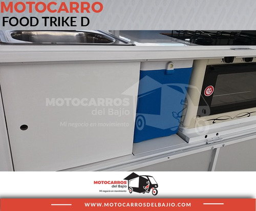 motocarro nuevo foodtruck negocio móvil empanadas tv lujo