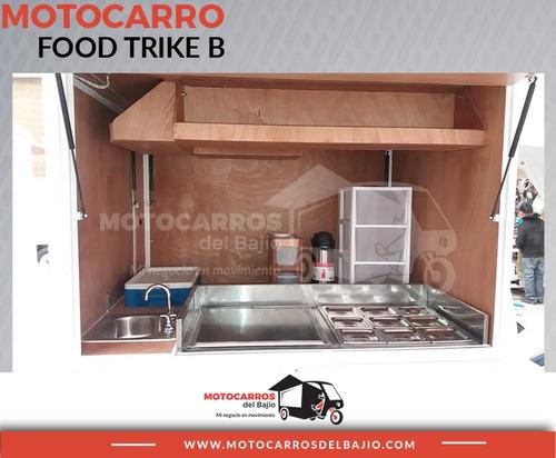 motocarro nuevo foodtruck negocio móvil tacos café