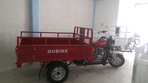 motocarro oubike 200 año 2017  garrafonero carga pasajeros